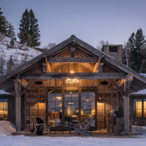 Architecture Ideas – Bridger Canyon Guest House - Miller-Roodell Architects
