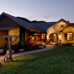 Architecture Ideas - Bridger Canyon Rustic Southwestern Home